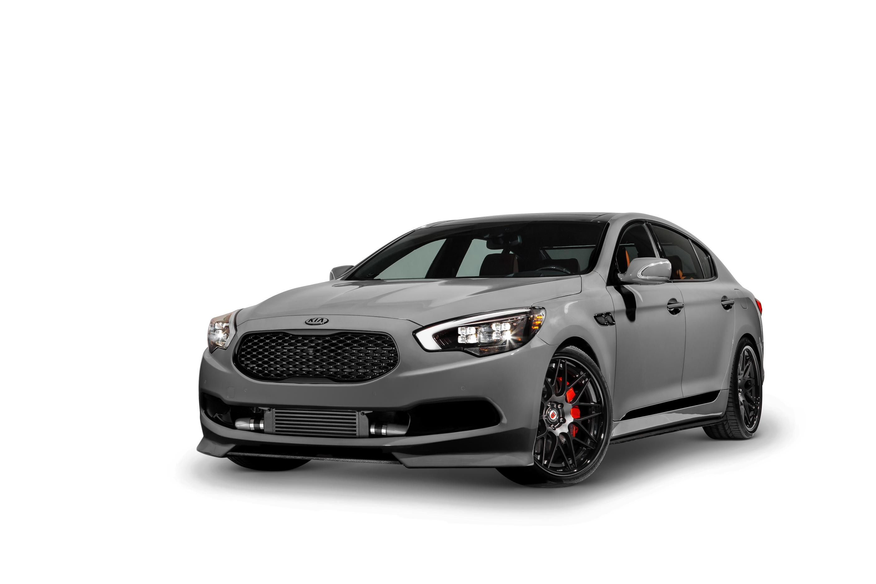 Every Car Needs Turbos. Even A Kia k9000….